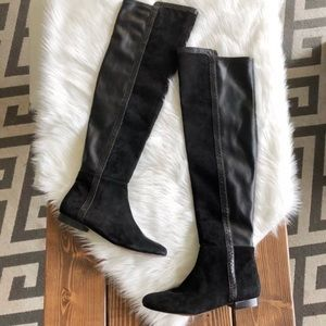 Vince Camuto Filtra Suede Over the Knee Boots